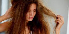 6 طرق فعالة للعناية بالشعر الجاف