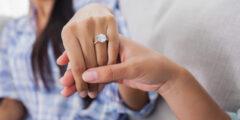 12 خاتم خطوبة فريد للنساء