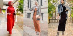 3 طرق لارتداء الفستان الضيق مع الحجاب